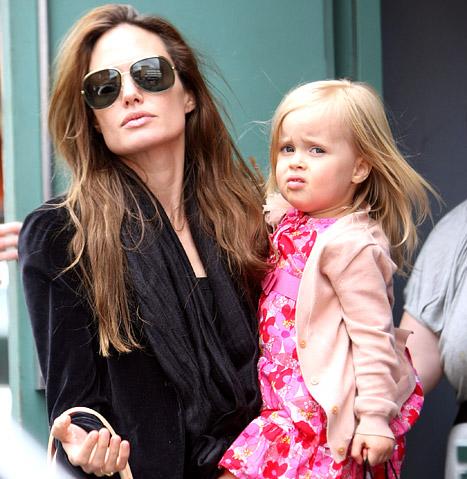 Vivienne Jolie-Pitt é a criança mais bem paga do Mundo