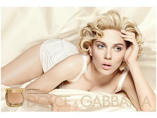 Scarlett Johansson na nova campanha da Dolce & Gabbana